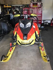 Parting out 2016 skidoo xrs