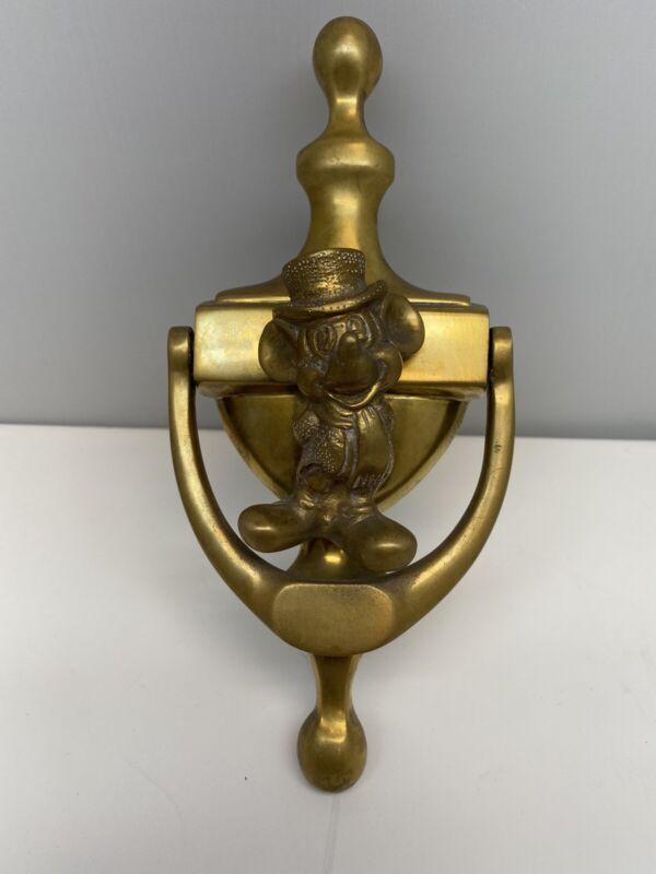 1990's Brass Mickey Mouse Door Knocker
