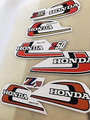 Honda Z50 K2 Custom Decal Reproduction K0 K1 K2 68 69 70 71