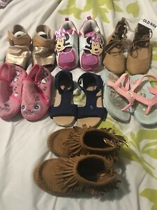 Size 5-6  girl shoes - mostly old navy