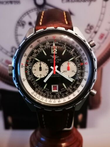 Vintage Breitling Navitimer Chronograph Automatic Chrono-Matic 1806 Stainless - watch picture 1