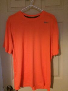 New Orange Nike Dry Fit T-Shirt