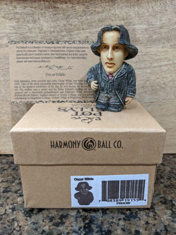 Harmony Kingdom Ball Historical Pot Belly Retired Oscar Wilde
