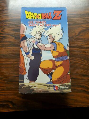 Dragon Ball Z - Cell Games Earth s Last Hope Uncut 2002 VHS DBZ - $29.75