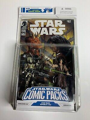Star Wars Comic Packs #82 Republic Commander Faie & Quinlan Vos HASBRO