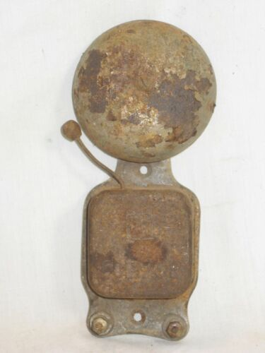 as-is old rusty old Eclipse bell fire emergency alarm ringer