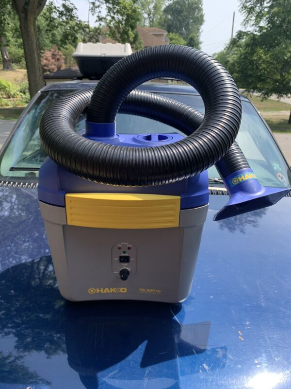 Hakko FA430-KIT1 Smoke Absorber with Duct and Rectangular Nozzle