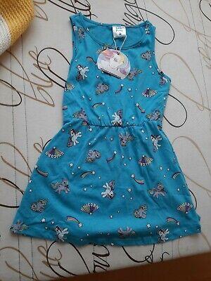 Gr. 98 Mädchen Kleider Sommerkleid Pferd Pferde Rock  (Pferd, Kleider Für Mädchen)