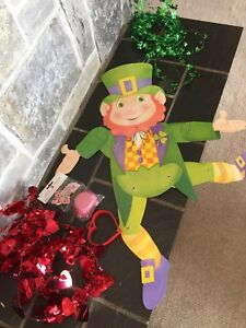 Valentine's Day and St. Patrick Day Decorations