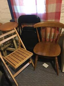 used wooden chairs for sale Waverley Eastern Suburbs Preview