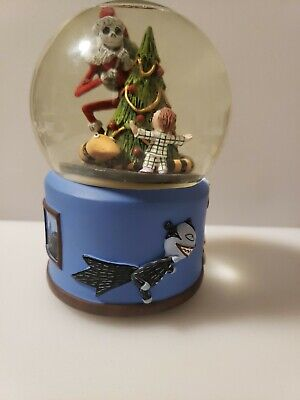 """Disney Nightmare Before Christmas JACK Musical Snow Globe """"Whats This"""""""