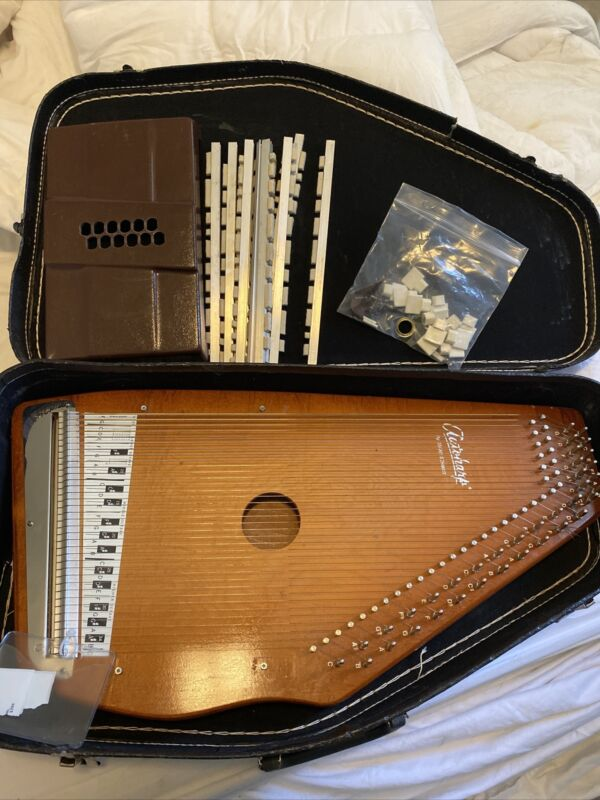 Oscar Schmidt Autoharp Auto Harp Musical Music Lap Chord Instrument Acoustic