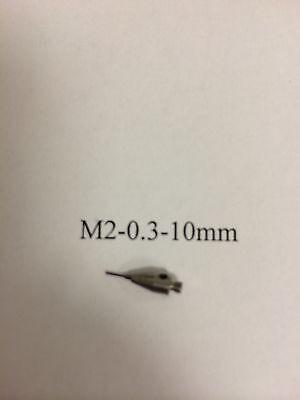 M2 Cmm Stylus Styli  0.3mm Ruby Ball 10mm Length A-5000-7800