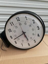 SIMPLEX double sided CLOCK two sided INDUSTRIAL