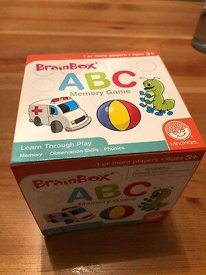 Brain Box Memory Game - BrainBox Memory Game - Children's ABC Brain Box Games