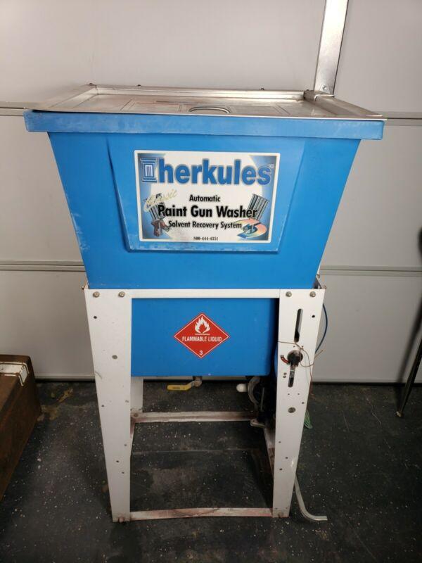 Herkules G202 Automatic Paint Gun Washer 5 Gallons waterborne 2 spray Gun washer