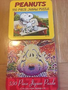 Collectible Peanuts puzzles New