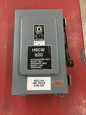 Used Square D 60 Amp Safety Switch Hu462awk Disconnect