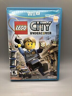 LEGO City Undercover Nintendo Selects Nintendo Wii U Complete Manual