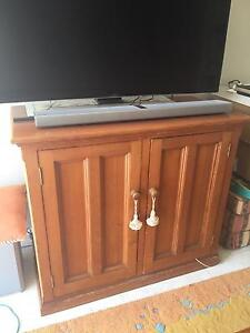 TV Cabinet - recycled Oregon timber Blakehurst Kogarah Area Preview