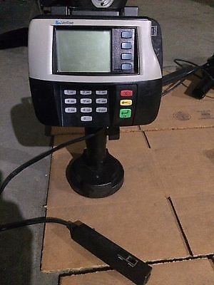 Verifone Mx830 M090-307-05-rb Card Reader Terminal With Stand And Cable