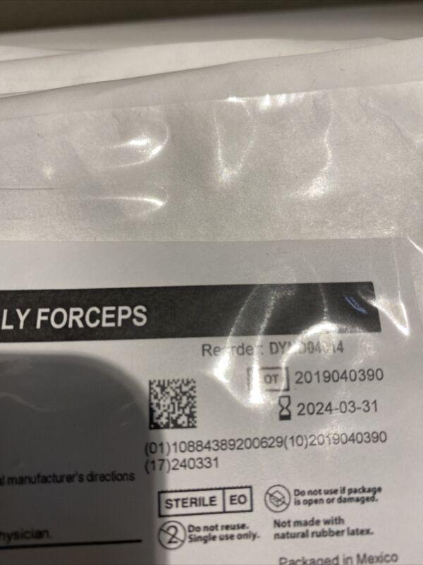 "Lot Of 9 MEDLINE DYND04014 CVD Kelly Forceps 6.25"""