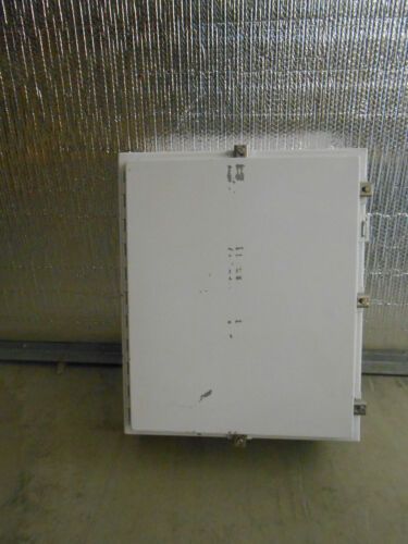 """Used Hoffman A24h20alp 24"""" X 6"""" Enclosure Wall Mount"""
