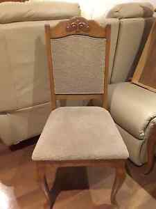 6 x danish antique dining chairs Calista Kwinana Area Preview