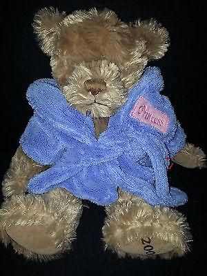 BURBERRY Princess Plush Stuff Animal Brown Teddy Berar Doll Sz 12' - Princess Stuff