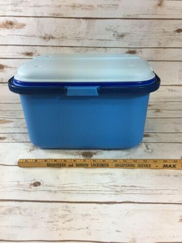 "Eagle Craftstor Craft Sewing Tote Storage Blue Organizer Tray 16"""