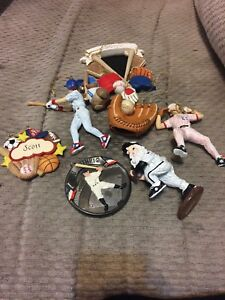 Base ball ornaments $5 for all