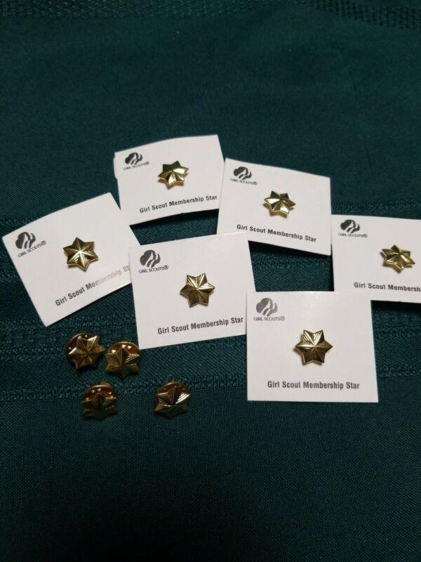 Girl Scout Membership Star Pin