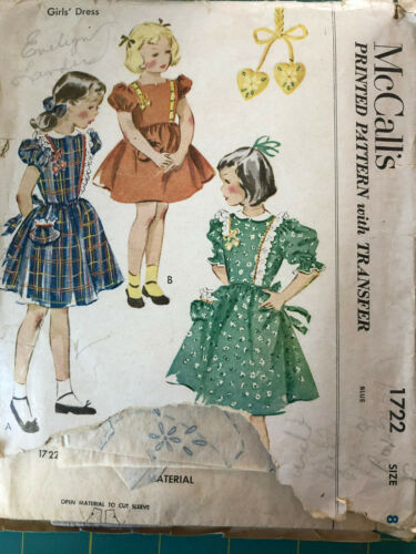 Vintage Sewing Pattern McCall