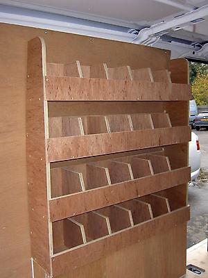 Renault Trafic Traffic plywood shelving van racking fits both sides