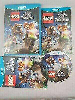 LEGO Jurassic World (Nintendo Wii U, 2015) CIB