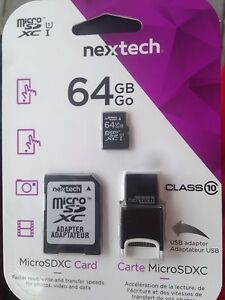 64GB Mircro SDXC Card