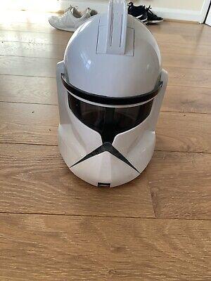 Star Wars Clone Trooper Talking Voice Changer Full Helmet Hasbro 2008