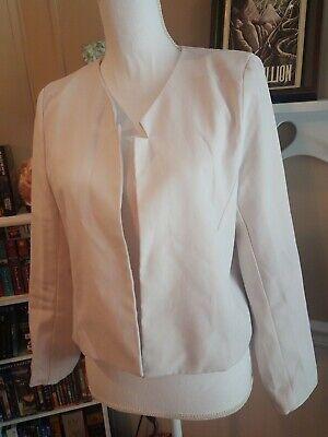 Face To Face Women's Fashion Large blazer Jacket Off White