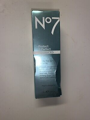 Boots No 7 Protect & Perfect Intense Advanced Serum 1 oz Brand New!