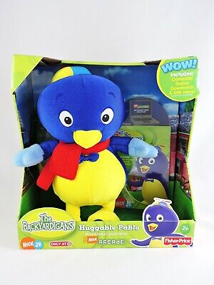 THE BACKYARDIGANS Huggable Pablo plus Nick Arcade Game 2006 Fisher-Price plush for sale  Owings Mills