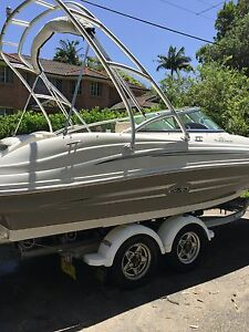 2008 Sea Ray 200 Sundeck (21 feet) with 350 MAG V8 Engine Newtown Inner Sydney Preview