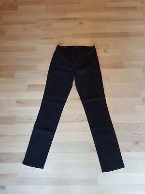 J BRAND Women's Mid Rise Skinny Leg Black Denim Jeans Sz 29 BNWT Defective 003