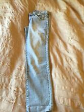 USED FORCAST SKINNY JEANS / SIZE 6 / LIGHT BLUE Angle Park Port Adelaide Area Preview