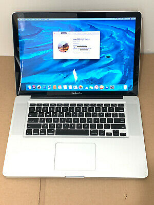Apple MacBook Pro 15'' 2.2GHz i7 Quad Core 8GB RAM 256GB SSD A1286 Late 2011.