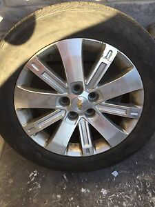 "18"" Aluminum Rims 5x120 with All Season Tires London Ontario image 2"
