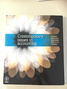 Contemporary Issues in Accounting 1E: 9780730300267 ...