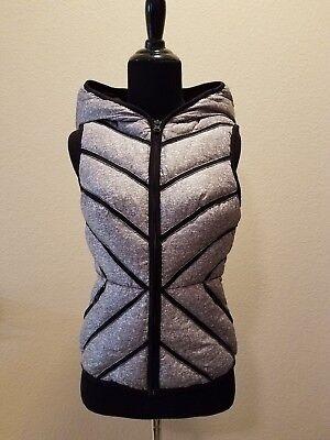Blanc Noir Mesh-Inset Packable Down Puffer Vest
