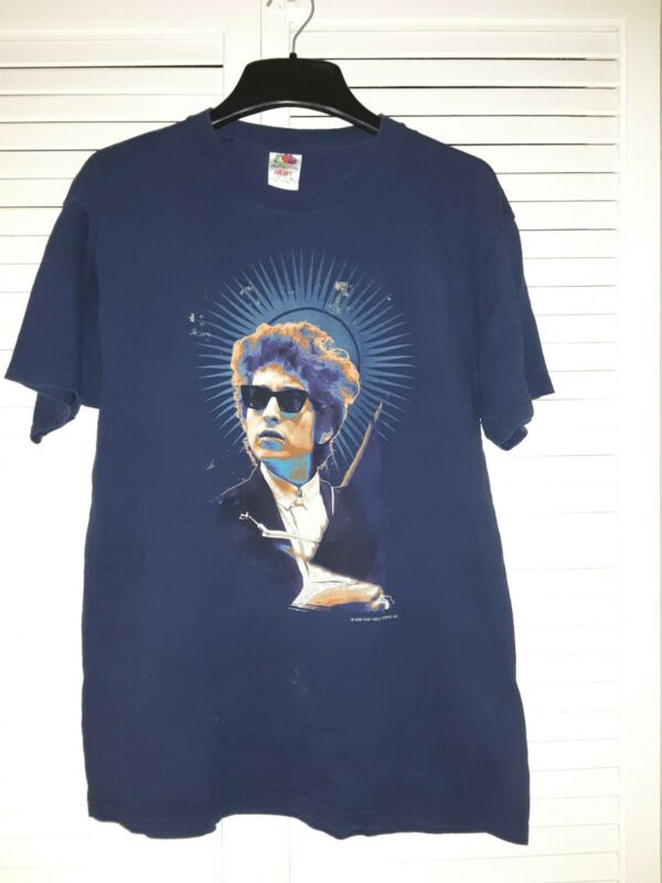 Bob Dylan Vintage T Shirt 2002 Large Heavy