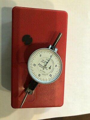 Interapid Test Indicator  312-b-1 .0005 In 1 12 Dial