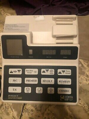 Chattanooga Intelect Legend Combo 2c Therapy Ultrasound Free Shipping Usa